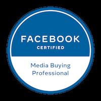 Logo Facebook Media Buying Professional