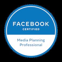 Logo Facebook Media planning professional