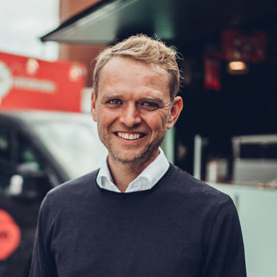 Jan Dinter, Co-Founder & CEO at Celebrate Streetfood