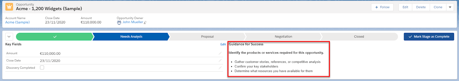 Project Guidance Automation
