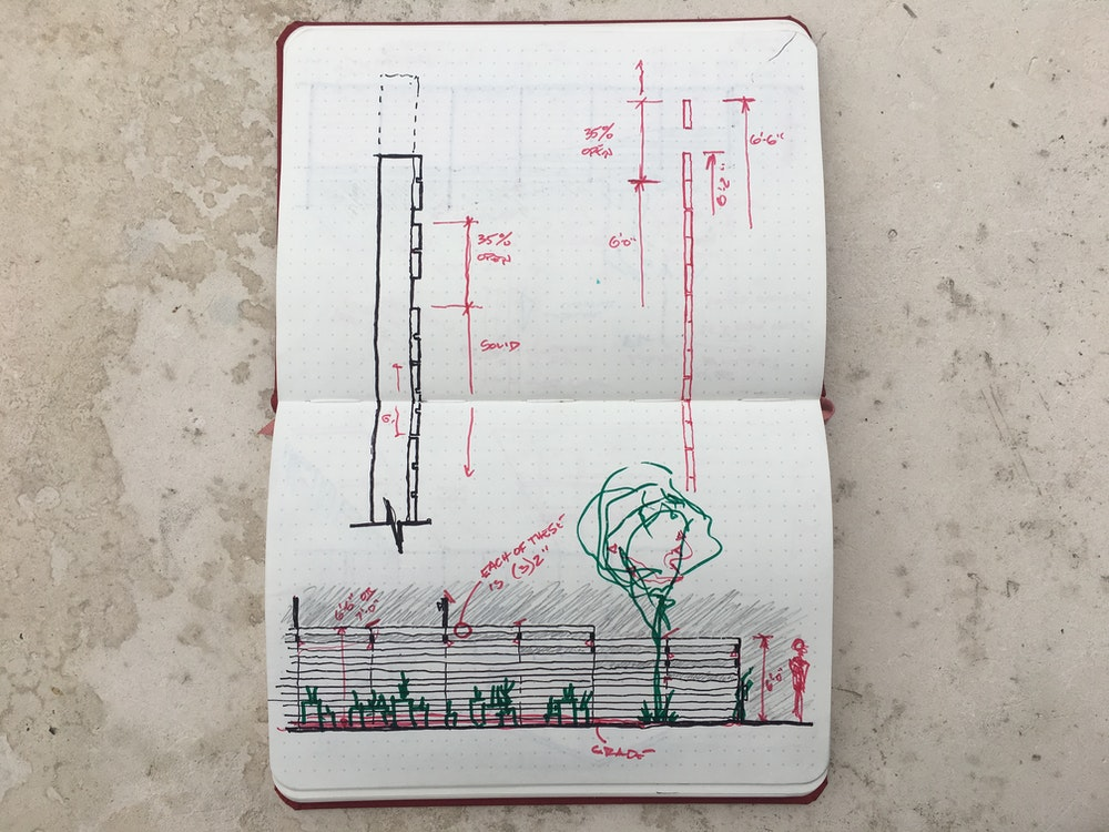 Harrison Notebook drawing image