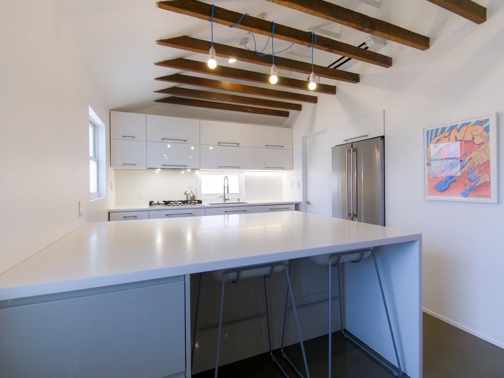 photo of minimalist kitchen