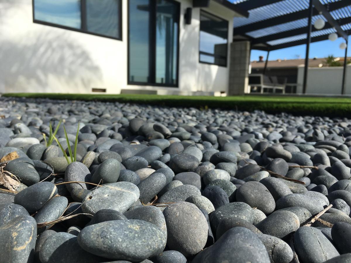Stone gravel property exterior