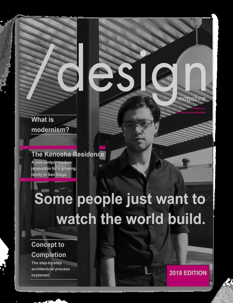 Modern Architecture Design Magazine Mockup
