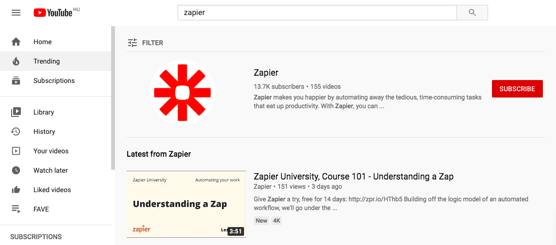 Great Zapier video tutorials [updated 2020]