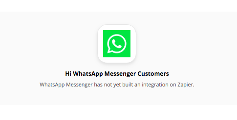 Can you automate WhatsApp with Zapier?
