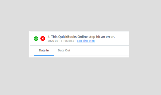 Fixing common Quickbooks errors on Zapier