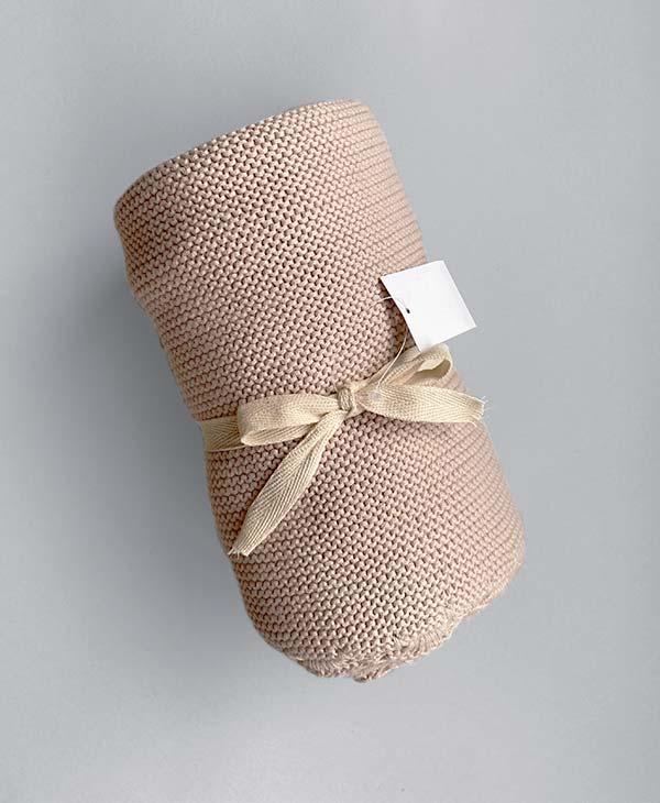 Crochet Baby Blanket Seashell