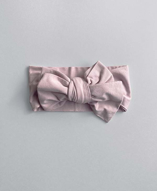 Lilac Oversized Topknot Bow Hello Marlie Co