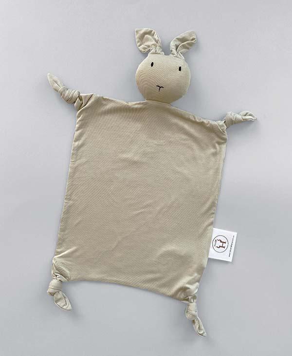 Sage Bamboo Bunny Baby Comforter Security Blanket