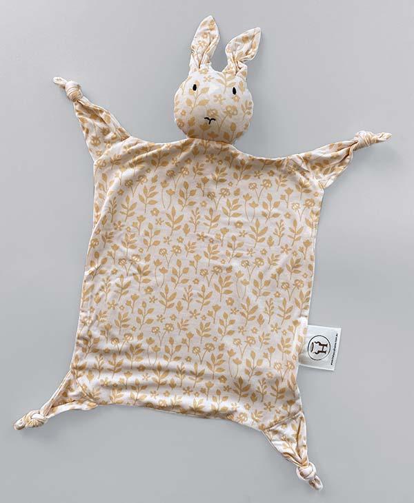 Meadow Bamboo Bunny Baby Comforter Security Blanket