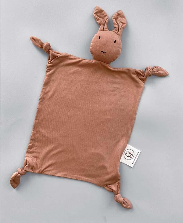 Pink Sirocco Bamboo Bunny Baby Comforter