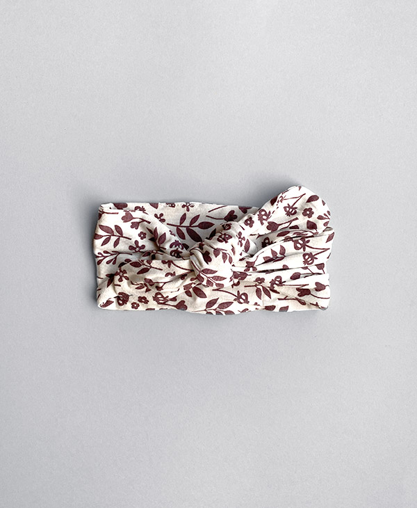 Mulberry Meadow Hair Band Tie Topknot Bow Halo & Horns