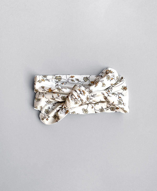 Halo and Horns knot headband is crafted from blended bamboo fabrics as their clothing.