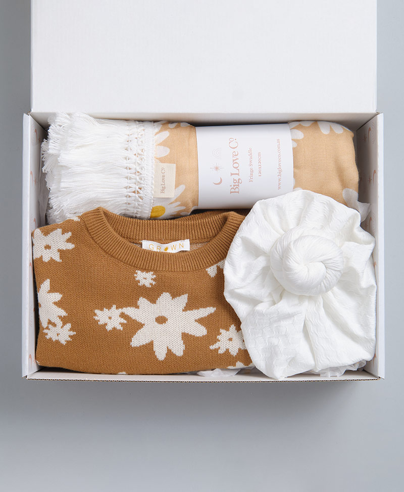 Daisy Big Love Co Baby Girl Gift Box