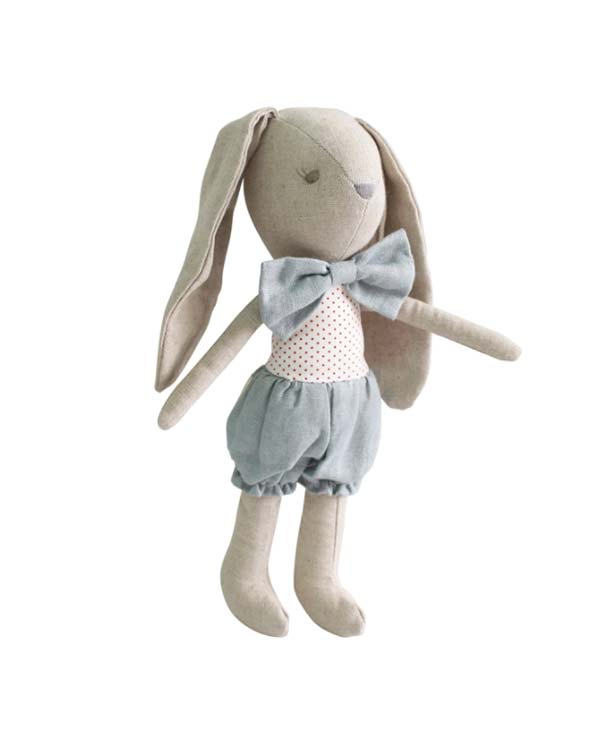 Baby Boy Bunny Soft Plush Toy 26cm