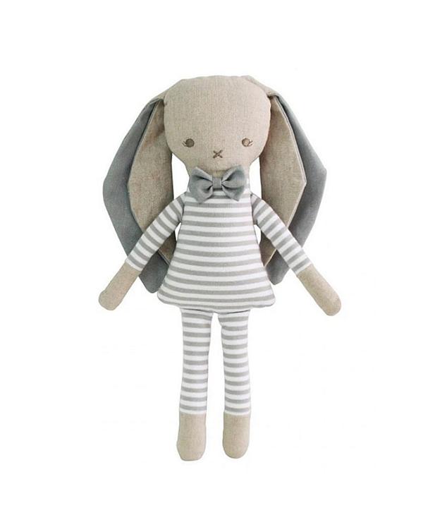 Alimrose Asleep Awake Bettime Bunny. Baby Boy Bunny Soft Plush Toy 26cm