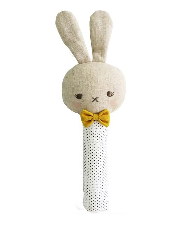Roberto Bunny Sqeaker Soft Plus Toy Australia - Alimrose