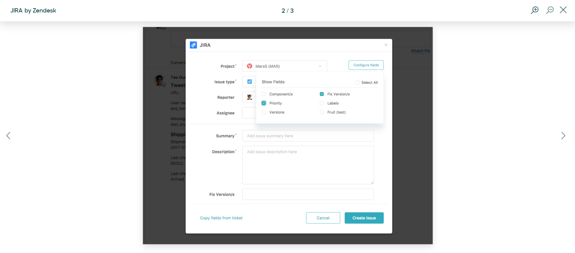 Zendesk integrations: JIRA by Zendesk