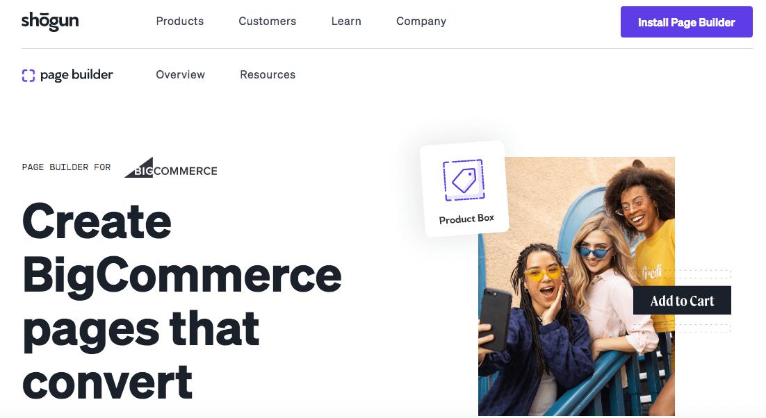 BigCommerce apps: Shogun