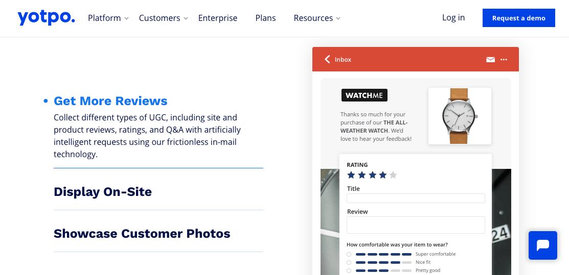 BigCommerce apps: Yotpo