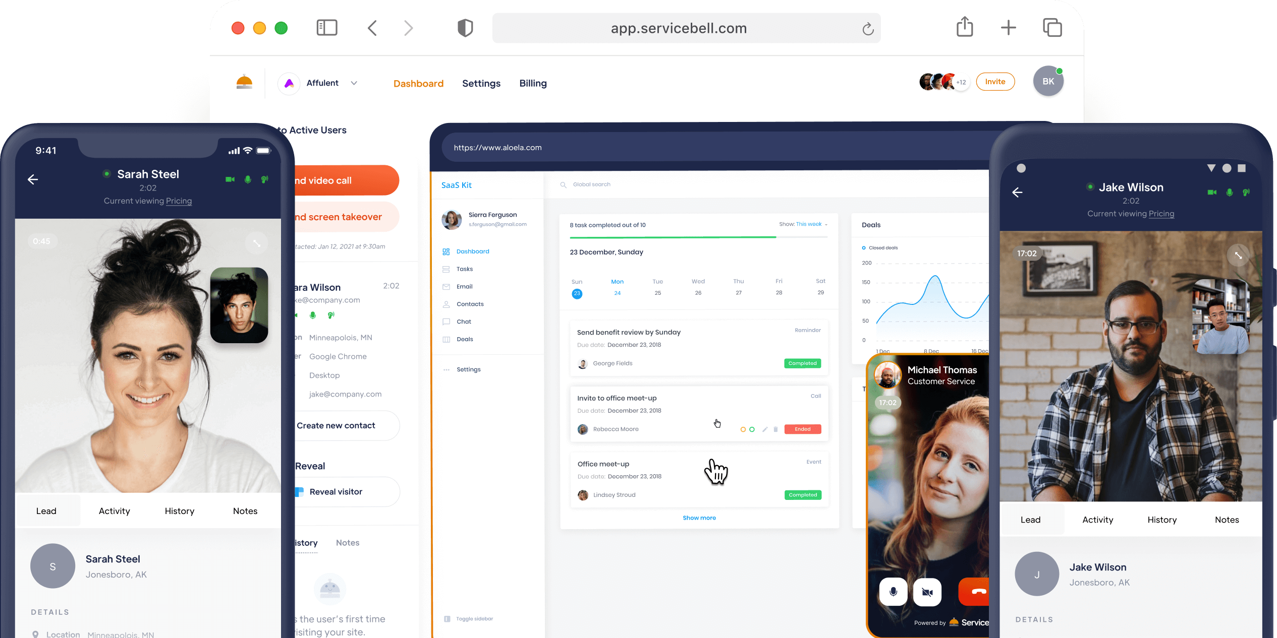 Announcing ServiceBell for iOS and Android