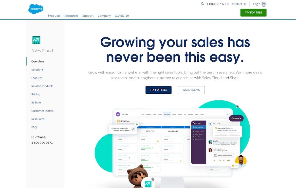 Intercom apps: Salesforce