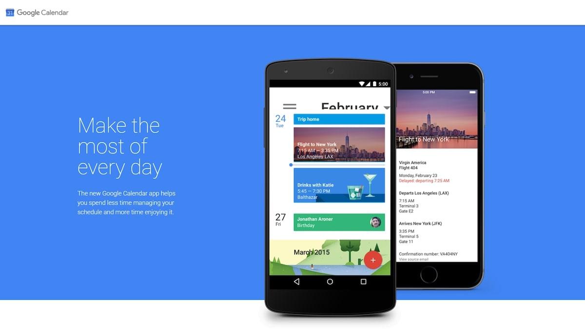 Intercom apps: Google Calendar