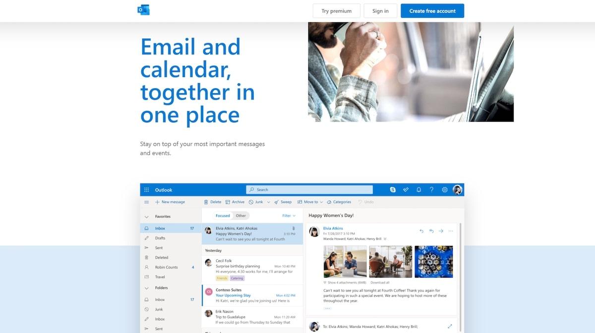 Intercom apps: Outlook Calendar