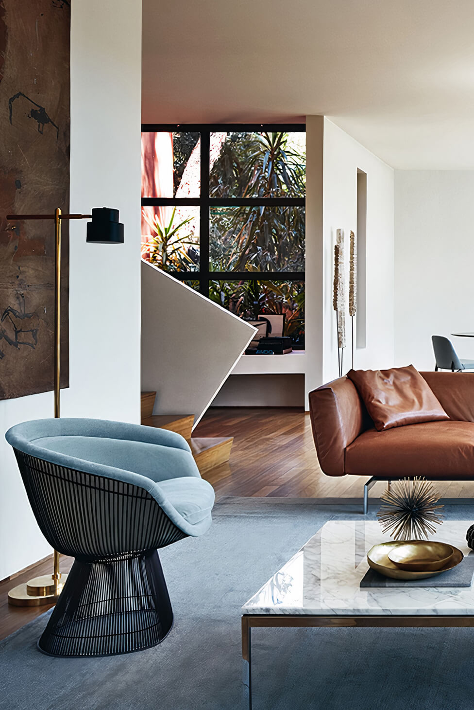 Wohnzimmer mit modernem Interior Design