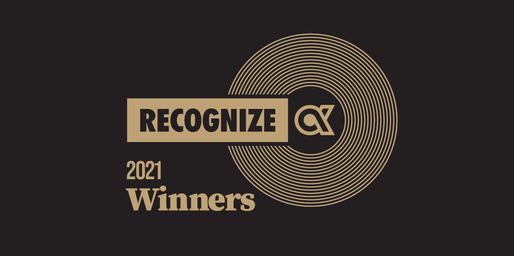 2021 Recognize Award Winners