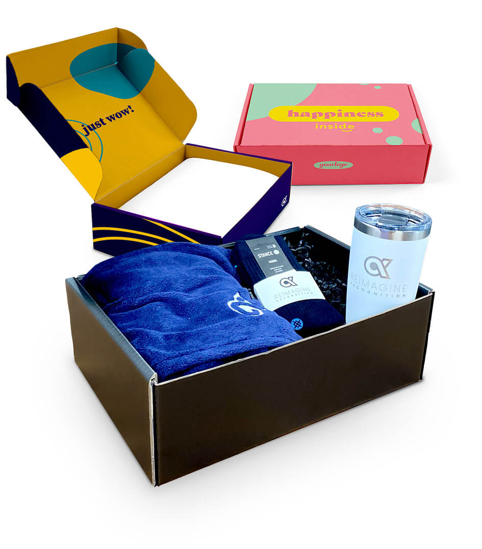 Bonus Boxes are a unique take on celebrating special events, from anniversaries to Employee Appreciation Day.