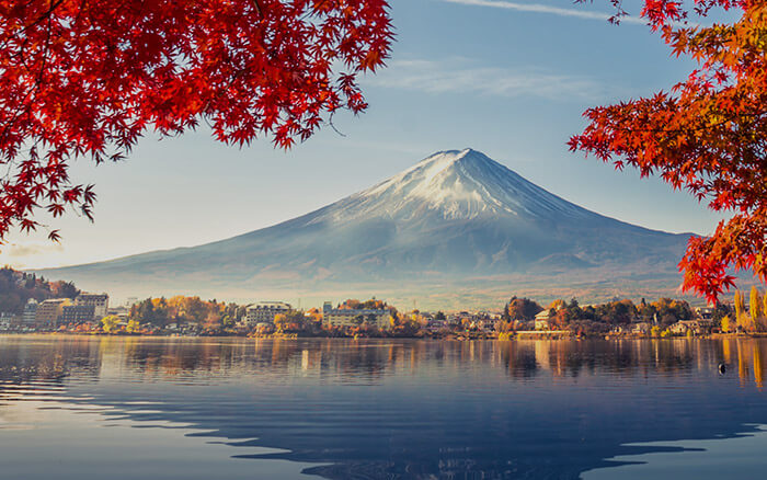 Mount Fuji in Fall