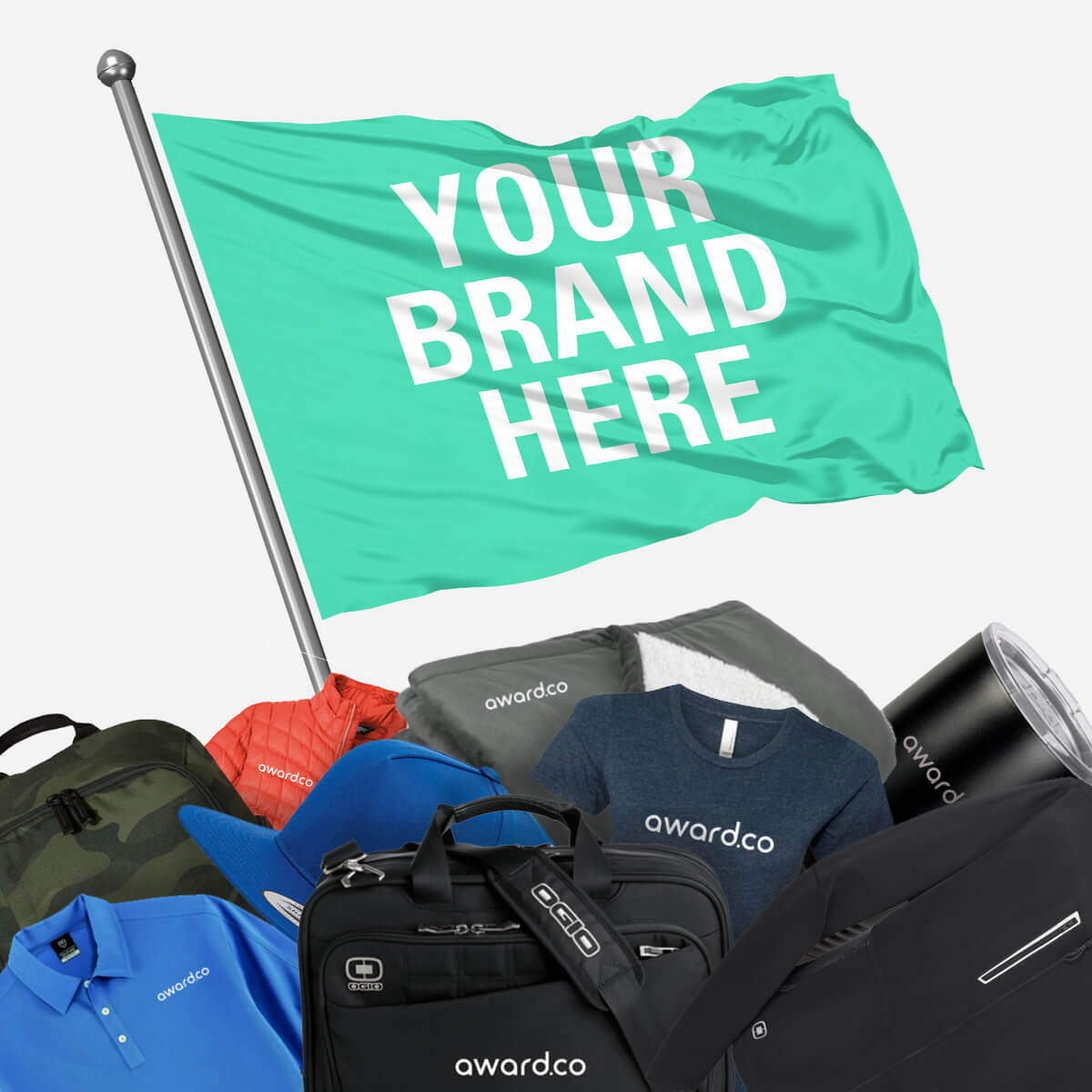 It's never been easier to offer your employees high-quality branded swag.
