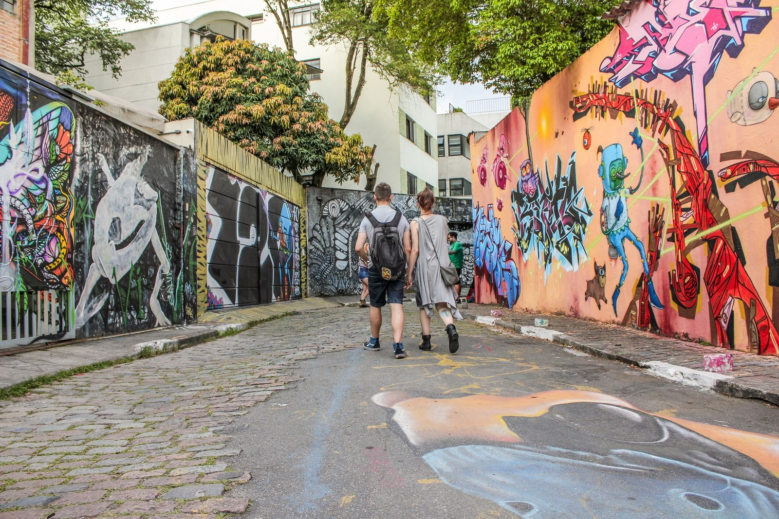 The Batman's Alley in Vila Madalena