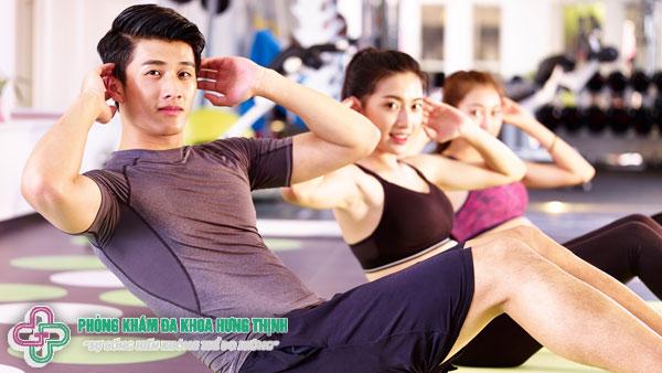 Top 6 bài tập thể dục giảm mỡ bụng