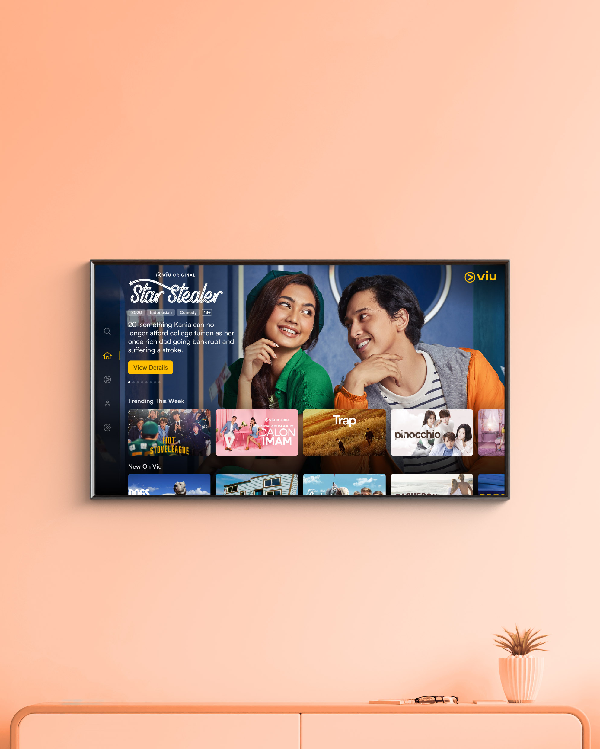 Smart TV Design hero image