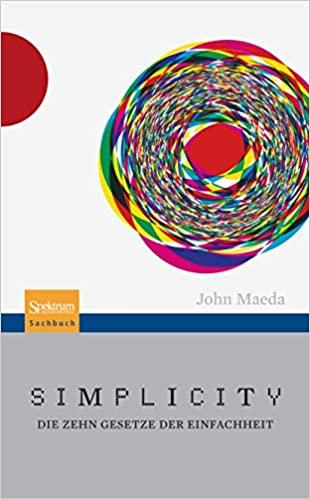 Buch Simplicity - John Maeda