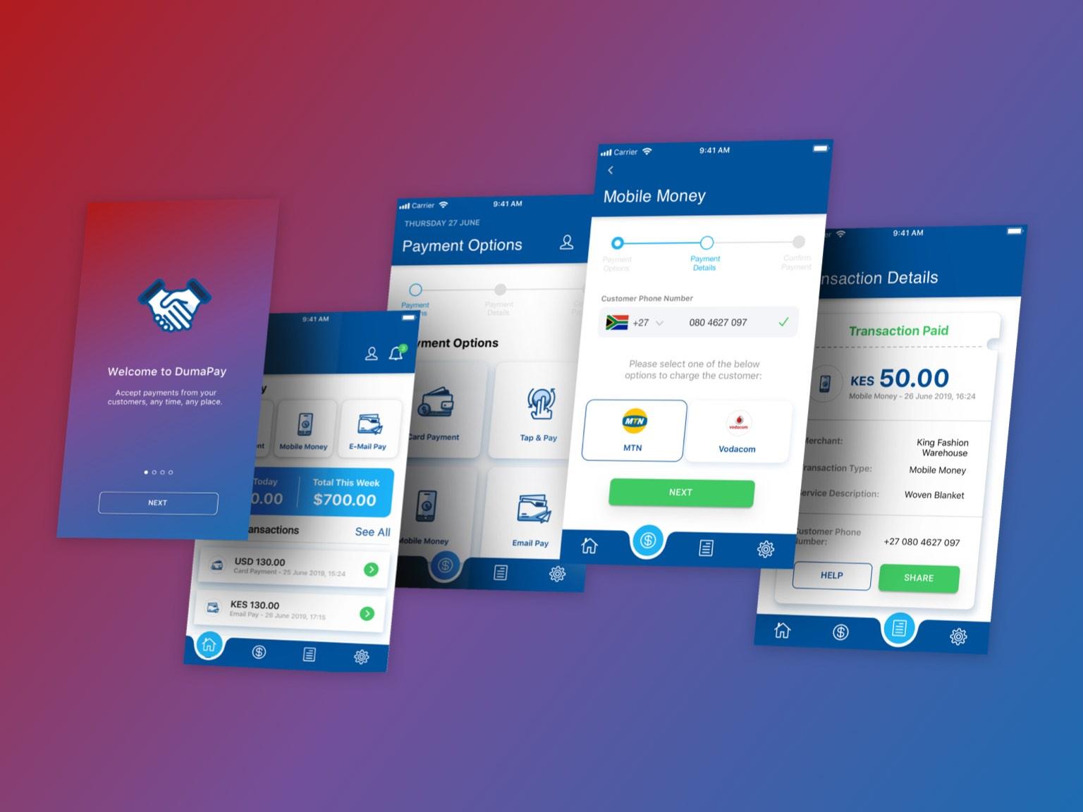 DumaPay app case study