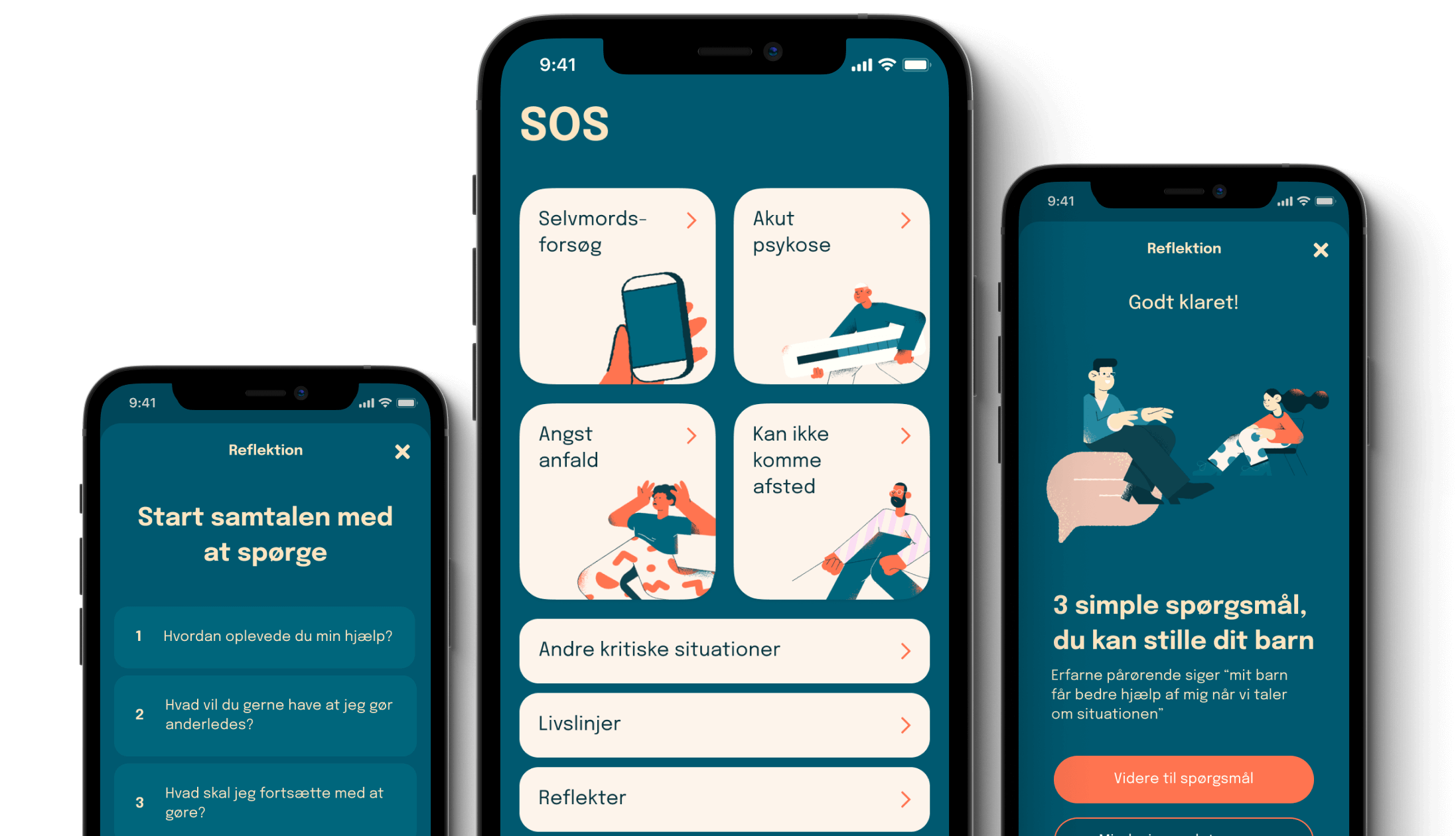 SOS - Hjælp Til Pårørende