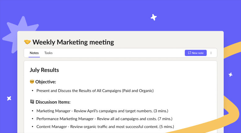 Creating an effective meeting agenda doesn't have to give you a headache or take up too much time - Here's how to write an agenda for a meeting + some tips on meeting templates.
