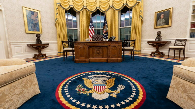 Oval office zoom background