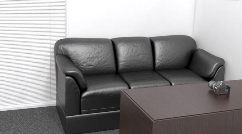 casting couch zoom background