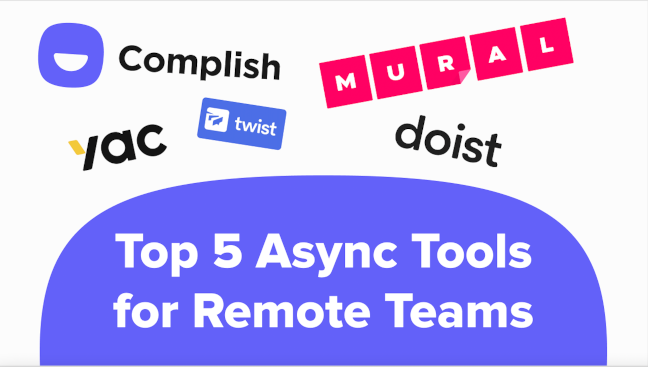 No wonder you're struggling with adapting to async. Without the right asynchronous collaboration tools, your dream of fewer, better meetings won't ever become reality.