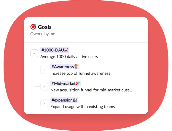 goal tracking software