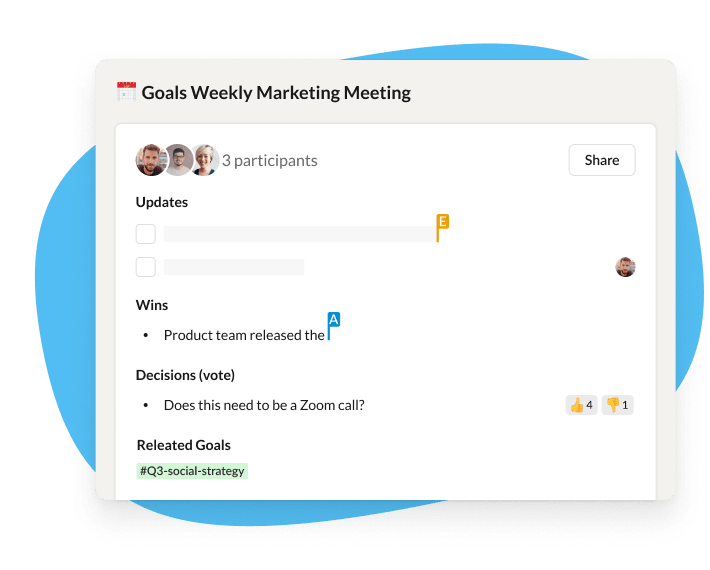 asynchronous meetings