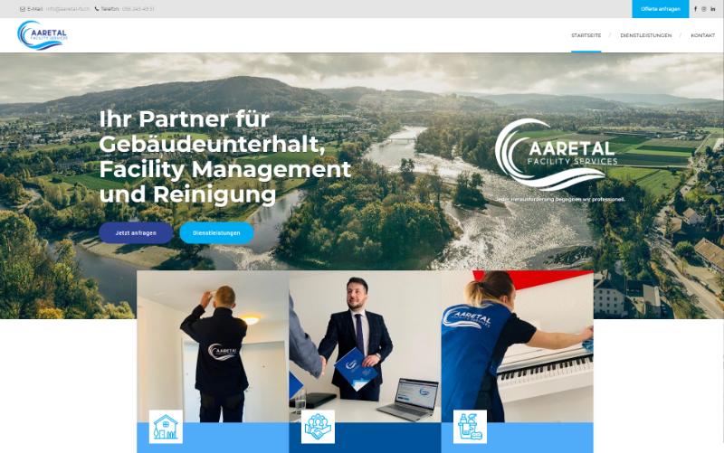 Firmenwebseite Gebäudeunterhalt
