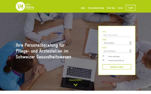 Firmenwebseite Personalvermittlung