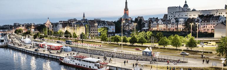 Photo of city of Szczecin, Poland
