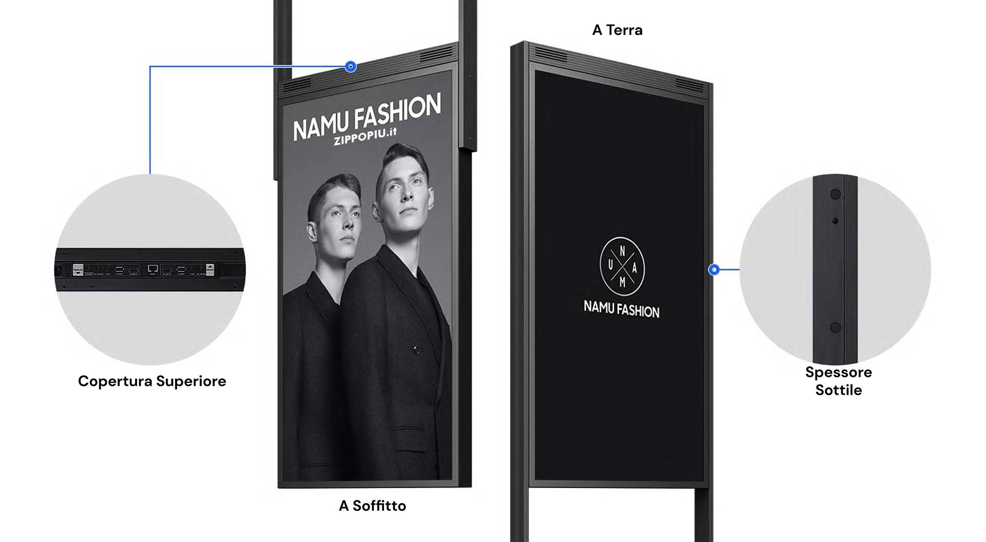 Design Flessibile Monitor Display